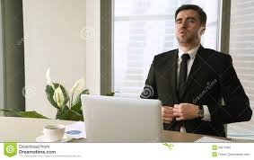 meditation office. Meditation Office. At Work. Busy Young Businessman Taking Break To Meditate Stock Footage Office C