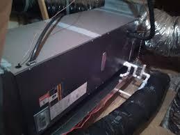 lennox air handler. new lennox electric air handler installation by amarillo conditioning.