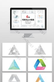 Triangle Classification Chart Triangle Data Classification Business Chart Ppt Element