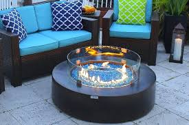 stone fire pit table architecture round modern concrete gas fire pit table in brown com within ideas 3 stone fire pit table uk