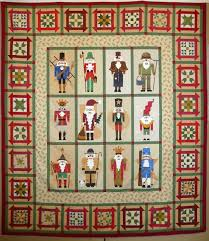 Come Quilt (Sue Garman): Seminars and All Kinds of Quilts & Here are some close-ups of Nancy's blocks. Each of the little nutcracker  patterns in the set tells the story behind the nutcrackers. Adamdwight.com