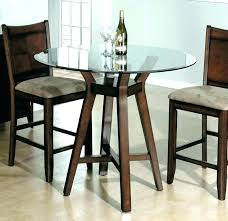 rustic wooden dining table small round wood kitchen and chairs