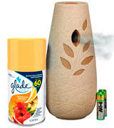best air freshener for office. Glade Automatic Spray Air Freshener Starter Kit, Hawaiian Breeze (2pack) Best For Office T
