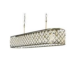 inch rectangular crystal chandelier antique brass and cleaning