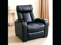 recliner with cup holder modern black faux leather recliners with cup holder brown leather recliner chair recliner with cup holder