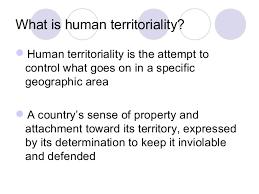 Territorial Morphology Morphology Territorial