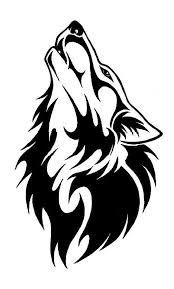 howling wolf drawing tattoo. Delighful Howling With Howling Wolf Drawing Tattoo G