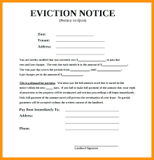 Free Eviction Notice Template Gorgeous Samples Of Eviction Notice Template Free Documents In Tenant Private
