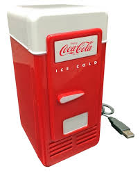 Mini Coca Cola Vending Machine Unique Mini Coca Cola USB Powered One Can Retro Cooler