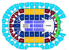 Concert Seating Chart Quicken Loans Arena Celine Dion Courage World Tour Rocket Mortgage Fieldhouse