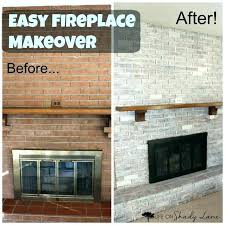 surprising painting red brick fireplaces before painting with brick anew can you paint over red brick