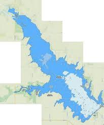 Marion Reservoir Fishing Map Us_ks_marion Nautical