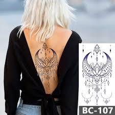 1 лист грудь боди арт тату временная водостойкая татуировка ювелирные изделия