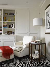 Example of a trendy living room library design in Philadelphia