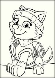 Rocky Coloring Page Paw Patrol Rubble And Rocky Coloring Page