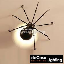 Vintage <b>Wall Light Loft</b> LED <b>Wall Light</b> Spider Wall Mounted Lights ...