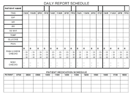 Run Sheet Templates Doc Free Premium Day Planner Template 7