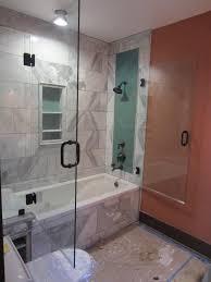 custom glass tub shower doors