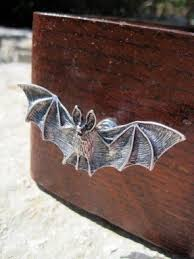 bedroom furniture drawer pulls. bat drawer knob in silver metal set of 2 bedroom furniture pulls
