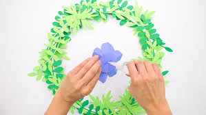 Paper Flower Mobiles Diy Paper Flower Mobile Colorize Your Life Astrobrights