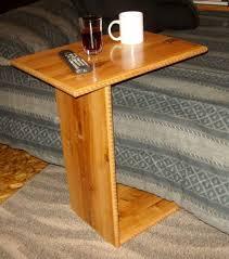 tv tray table wood diy
