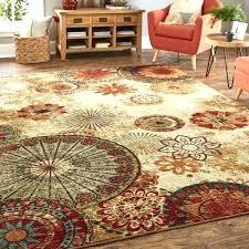 square rugs home strata caravan medallion multi area rug 10x10 10 x vintage 6