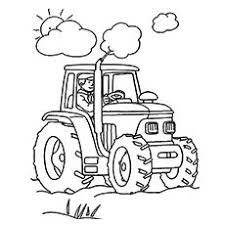Small Picture Top 25 Free Printable Tractor Coloring Pages Online Avas 2nd