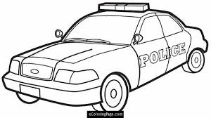 car printable coloring pages. Fine Car City Police Car Printable Coloring Page To Pages C