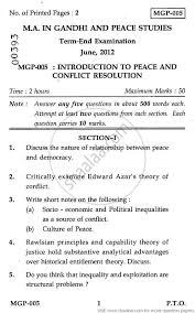 introduction to peace and conflict resolution social  introduction to peace and conflict resolution 2012 social sciences gandhi and peace studies