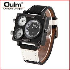 online get cheap mens square face watches aliexpress com men s watches top brand luxury oulm 3595 unique designer watches men fashion square big face 3