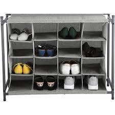 16 pair shoe organizer shoes shoe rack shoe storage shoe cabinet shoe shelf