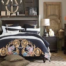 600tc egyptian cotton queen bedding set luxury queen king size bed sheet set embroidery duvet cover parure de lit ropa de cama beautiful bedding cotton