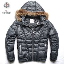 Cheap Moncler Jacket Moncler Mens Down Jackets with Fur Hood Grey,moncler  pharrell,moncler jackets on sale,cheapest price