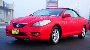 Used 2007 Toyota Camry Solara For Sale   Edmonds WA