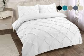 omeco limited pintuck duvet cover set
