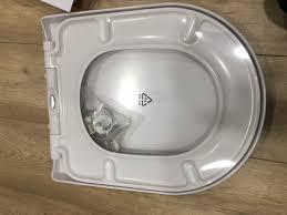vitra zentrum d shape replacement soft close toilet seat