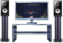 1 year warranty BXYXJ Floor Speaker Shelf Surround Stand inch 11.8-31.4