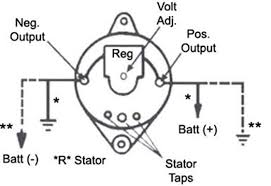 alternators 110 555jho leece neville 160a 12v iref j180 product diagram