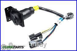 1996 1997 ford f150 f250 f350 bronco 7 pin trailer tow wire Ford Super Duty Trailer Wiring F350 Oem Trailer Wiring Harness 1996 1997 ford f150 f250 f350 bronco 7 pin trailer tow wire harness connect oem