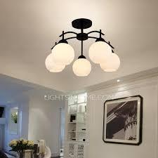 modern 5 light semi flush ceiling light 30 39w for kids room
