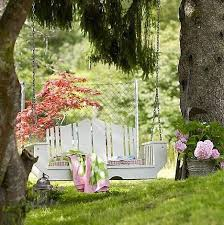 Small Picture outdoor swing garden ideas