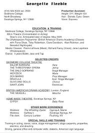 how to build an acting resumes how to build an acting resume foodcity me