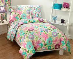 Easy Twin Bed Quilt Patterns New Girls Daisy Flower Butterfly Pink ... & Easy Twin Bed Quilt Patterns New Girls Daisy Flower Butterfly Pink Aqua  Bedding Comforter Sheet Set Adamdwight.com