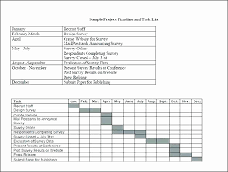 Project Timeline Template Word Fresh Word Timeline Template Mac
