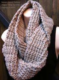 Crochet Infinity Scarf Patterns Simple Inspiration Design
