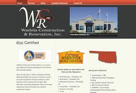 website development design all for him marketing solutions inc construction website