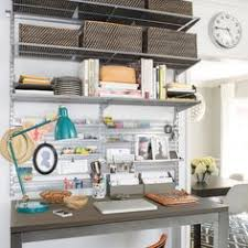 Office shelving solutions Wood Easily Create An Office Shelving And Desk Space That Works The Way You Need It To Ikea 108 Best Elfa Office Shelving Solutions Images In 2019 Office