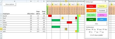 Employee Time Off Tracking Spreadsheet Order Status Excel Template Project Management Templates Free