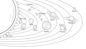 Coloring Pages Solar System For Coloringages Awesome With