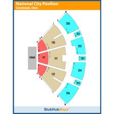 Pnc Pavilion Cincinnati Seating Chart Pnc Pavilion Events And Concerts In Cincinnati Pnc